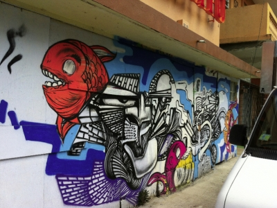 Graffiti - Calle Cerra